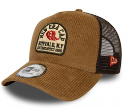 ŠILTOVKA NEW ERA FABRIC PATCH TRUCKER STN HNEDÁ