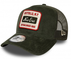 ŠILTOVKA NEW ERA FABRIC PATCH TRUCKER RIG ZELENÁ