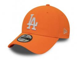 ŠILTOVKA NEW ERA LEAGUE ESSENTIAL NEON PACK 9FORTY LOS ANGELES DODGERS NEO ORANŽOVÁ