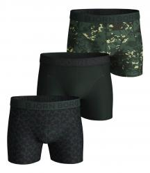 ŠORTKY BJÖRN BORG DIGITAL WOODLAND & ABSTRACT COTTON STRETCH SHORTS 3-PACK ZELENÉ